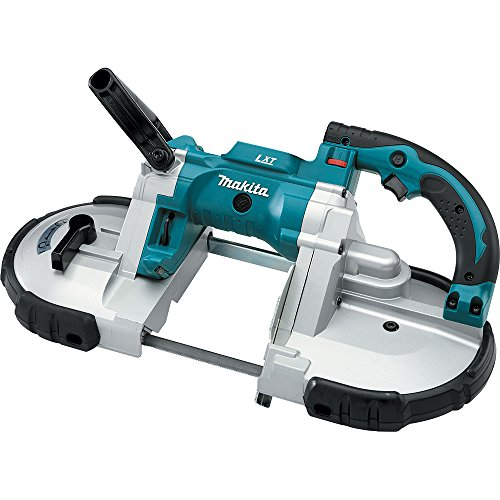 (Makita XBP02Z 18V LXT Lithium-Ion Cordless Portable Band Saw, Tool Only)