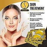 BrightJungle Under Eye Collagen Patch, 24K Gold