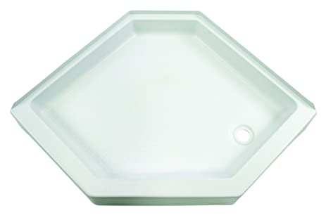 Lippert 209744 Better Bath 32u0026quot; X 32u0026quot; Neo Angle RV Shower Pan  Right Hand