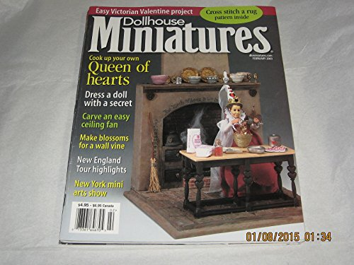 Dollhouse Miniatures Magazine February, 2003 for sale  Delivered anywhere in USA