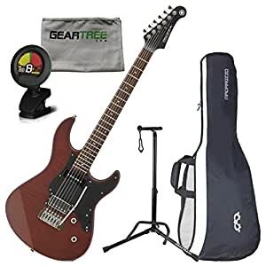 yamaha pac611vfmx mrtb limited edition electric guitar matte root beer w bag. Black Bedroom Furniture Sets. Home Design Ideas