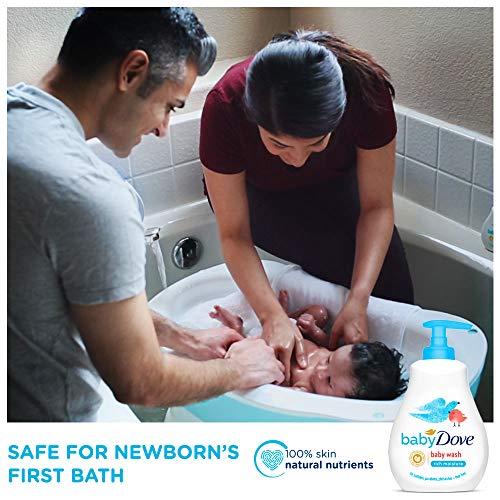 Baby Dove Rich Moisture Hair to Toe Baby Wash 200 ml
