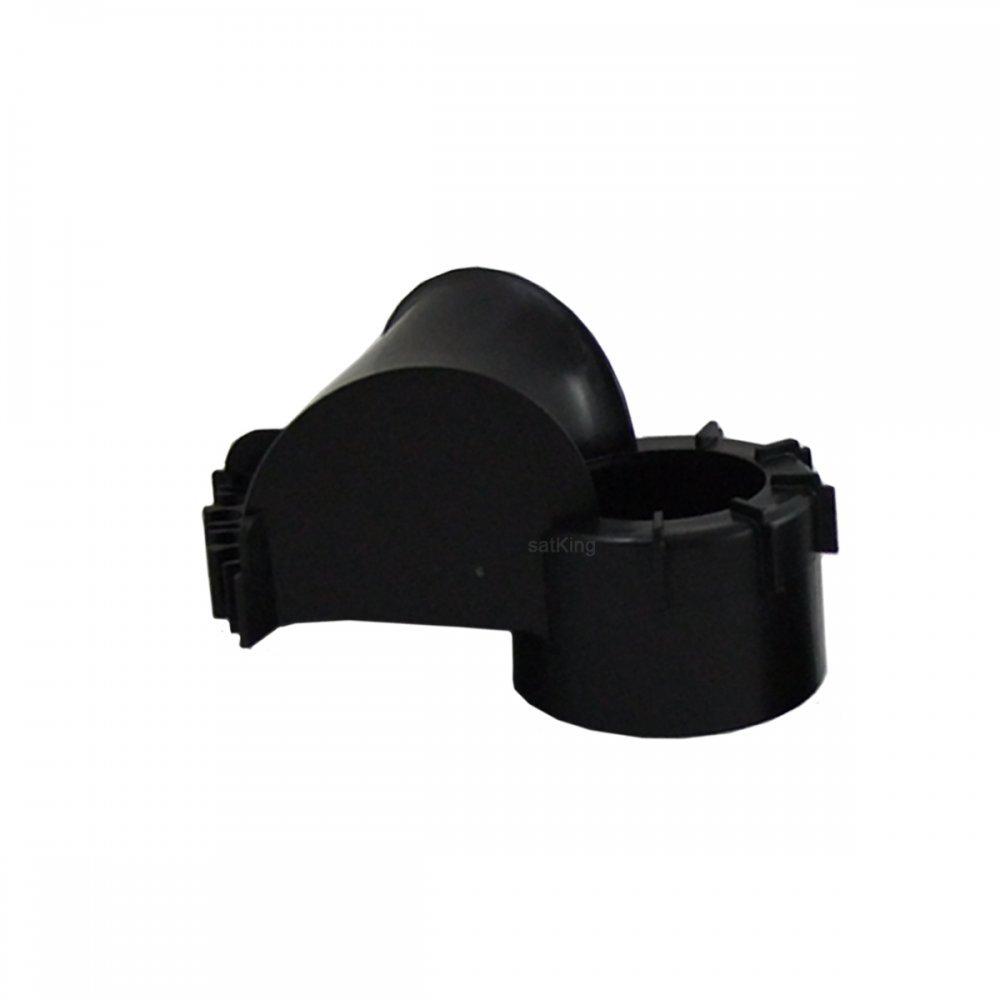 Mastkappe f/ür Antennenmast /Ø48-60mm mit Kabeldurchf/ührung
