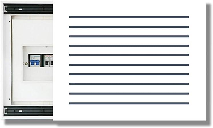 Caja de Medidor de Escultura Caja eléctrica Decorativo Persianas Pintura Decorativa Puerta automática Caja de alimentación Interruptor de la Tapa Medidor de Pintura Eléctrica: Amazon.es: Hogar
