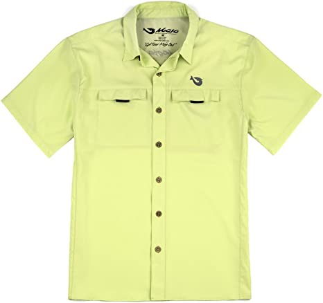 Mojo Sportswear Mr. Big - Camisa de Pesca de Manga Corta para ...