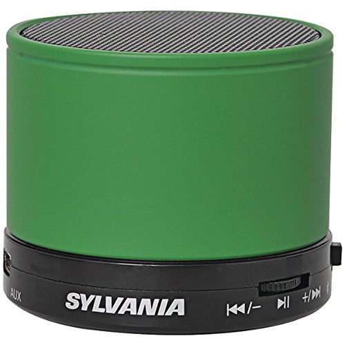 Sylvania SP631 Green Bluetooth Rechargeable Microphone