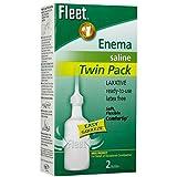 Fleet Naturals Enema Twin Pack