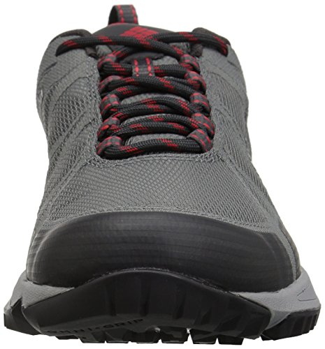 Steel Outdry ti Conspiracy Gris Rouge Multi Vif Hommes De Chaussures Pour V sport Grey Columbia Impermables TOOHXq