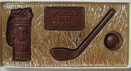 Milk Chocolate Golfing Gift