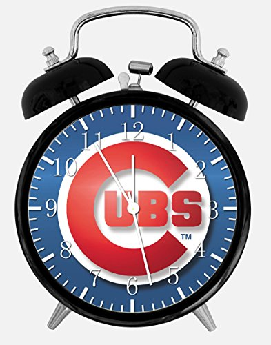 Cubs Alarm Desk Clock 3.75