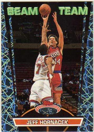 1992-93 Stadium Club Members Only Parallel #BT9 Jeff Hornacek - Beam Team - 76ers