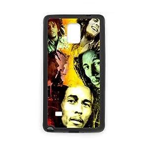 LSQDIY(R) Bob Marley Samsung Galaxy Note 4 Personalized Case, Customised Samsung Galaxy Note 4 Case Bob Marley