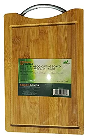 Home Basics Bamboo Cutting Board HDS Trading Corp CB44251