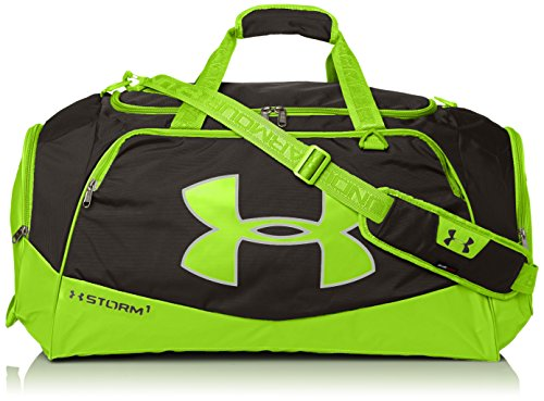 Under Armour Storm Undeniable II Duffle, Black/Hyper Green,