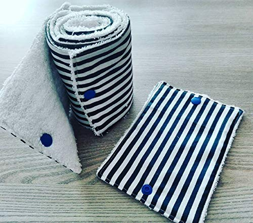 en coton et /éponge cr/éation fait main papier toilette lavable z/éro d/échet