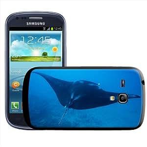 Fancy A Snuggle - Carcasa para Samsung Galaxy S3 Mini i8190, diseño de raya en el océano