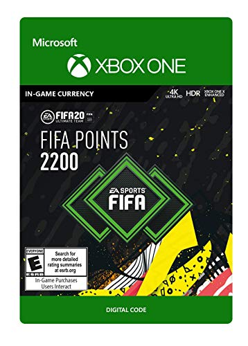 Amazon.com: FIFA 20 Ultimate Team Points 2200 - [PS4 Digital ...