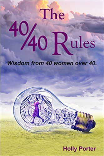 The 40/40 Rules: Wisdom from 40 Women over 40 (The Rules Books Book 1) cover