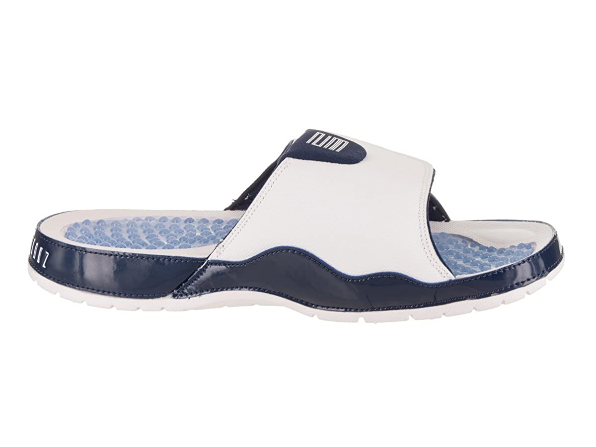 3922ae8449f2 Nike Jordan Men s Jordan Hydro XI Retro White University Blue Sandal 13 Men  US  Jordan  Amazon.ca  Shoes   Handbags