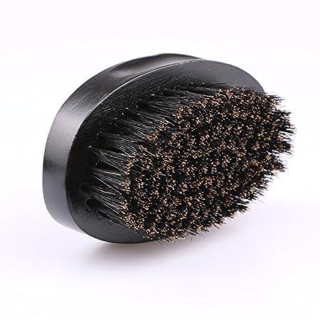 Cepillo de barba, barba de madera peine, barba Cepillo Cerdas de Jabalí Y 1peine para pelo y barba estilo bigote madera peine JINGBOSHI