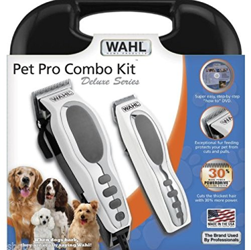 Professional Deluxe Pet Grooming Cordless Trimmer Dog Cat Kit Wahl Clippers by Phumon567