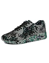fereshte Unisex Camouflage Fashion Sneakers Cross Country Walking Running Sport Shoes
