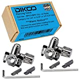 """DIKOO BPV-31 Bullet Piercing Valve 3- in-1 Clamp on Tapping Value for 1/4"""", 5/16"""", and 3/8"""" O.D Tube"""