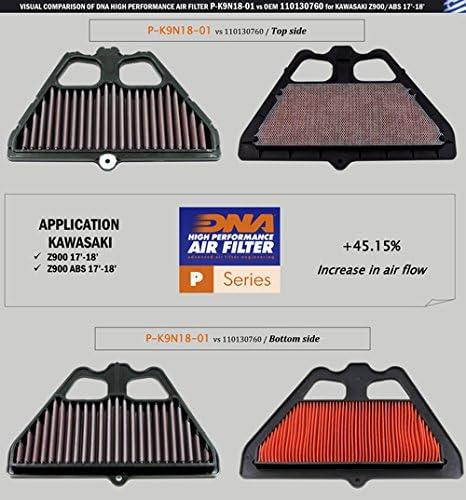 P-K9N18-01 17-18 Z900 ABS Filtre /à air haute performance Kawasaki Z900 PN