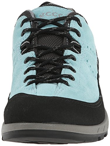 Ecco Ecco Yura Ladies, Chaussures de fitness outdoor femme Bleu - Blau (BLACK/AQUATIC)