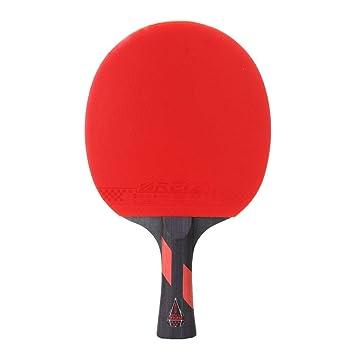 FancyswES8eety REIZ 5 Estrellas Raqueta de Tenis de Mesa Mango ...