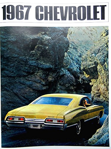 COMPLETE 1967 CHEVROLET PASSENGER CARS DEALERSHIP SALES BROCHURE - INCLUDES; Caprice, Impala, Impala SS, Super Sport, Biscayne & Bel Air - Coupes, Covertibles Wagons - ADVERTISMENT - LITERATURE - CHEVY 67