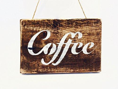 Coffee Sign - Wood Sign Coffee, Small Coffee Sign, Wood Hang