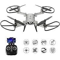 2MP Selfie Drones 2.4G Foldable RC Quadcopter Wifi FPV Drone Altitude Hold 3D Flips Rolls Gyro Gravity Sensor RTF RC Drones