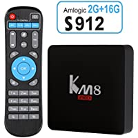 Edal KM8 PRO Amlogic S912 TV Box Octa Core Android 6.0 2G 16G TV BOX