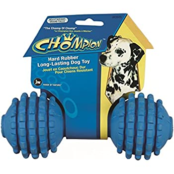 JW Pet Company Chompion Heavyweight Dog Toy (Colors Vary)