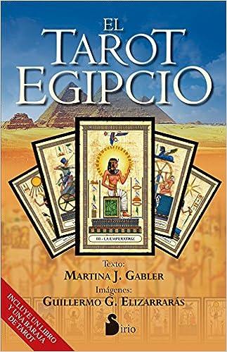 EL TAROT EGIPCIO: Amazon.es: MARTINA GABLER (argentina), GUILLERMO ELIZARRARAS (Mexicano): Libros