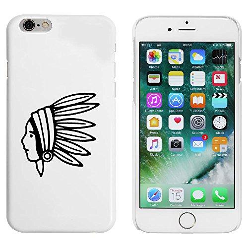 Weiß 'Amerikanischer Ureinwohner' Hülle für iPhone 6 u. 6s (MC00088531)
