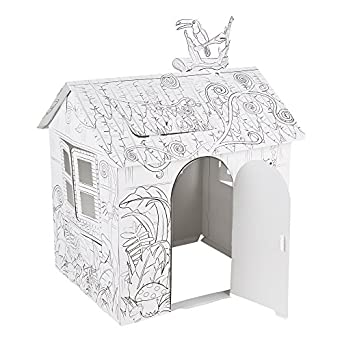 Amazon.com: Fat Catalog DIY Kid Sized Playhouse Coloring Kit ...