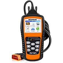 NEXPEAK OBD2 Scanner, NX501 Enhanced OBD II Code Reader Car Diagnostic Tool Auto Check Engine Light Diagnostic Scanner OBD2 Protocols Cars after 1996