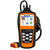 Automotive : NEXPEAK OBD2 Scanner, NX501 Enhanced OBD II Code Reader Car Diagnostic Tool Auto Check Engine Light Diagnostic Scanner OBD2 Protocols Cars after 1996