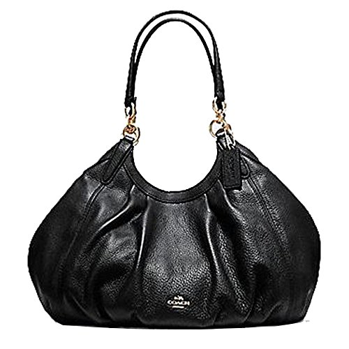 LILY SHOULDER BAG IN REFINED NATURAL PEBBLE LEATHER by Coach