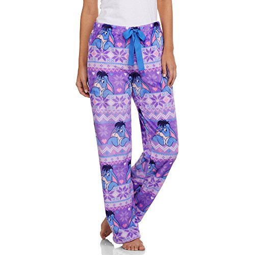 Disney Eeyore Women's License Pajama Super Minky Plush Fleece Sleep Pant XX-Large (Adult Disney Characters)