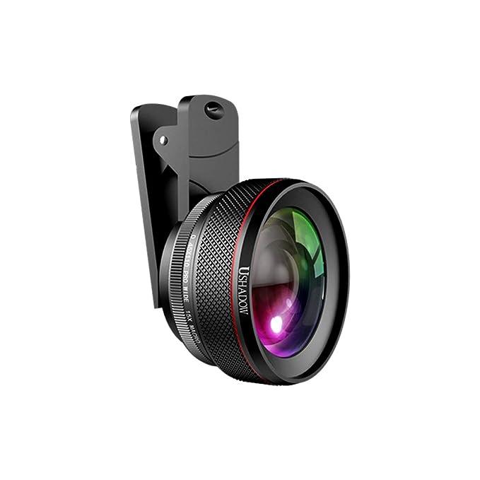 Amazon com: Docooler Phone Camera Lens, 0 6X Super Wide Angle Lens +