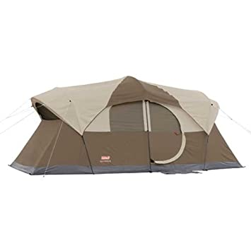 Coleman WeatherMaster 10 Tent w/Hinged Door - 17u0027 ...  sc 1 st  Amazon.com : tent with hinged door - memphite.com