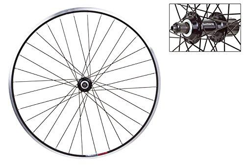 Wheel Master Rear 26 x 1.5, WEI-519, Blk, Altus RM40 8sp Blk Hub, 14g Blk Spokes, 36H