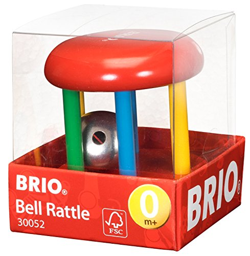 Brio Multicoloured Bell Rattle
