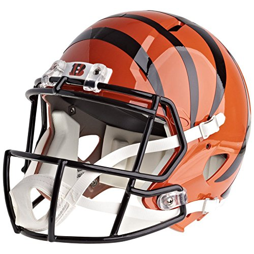 - Riddell Cincinnati Bengals Officially Licensed Speed Full Size Replica Football Helmet