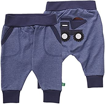 Freds World by Green Cotton Baby Boys Sweat Pocket Pants Trouser