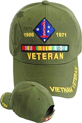 1st Marine Division Vietnam Veteran Cap (Division Hat Marine)