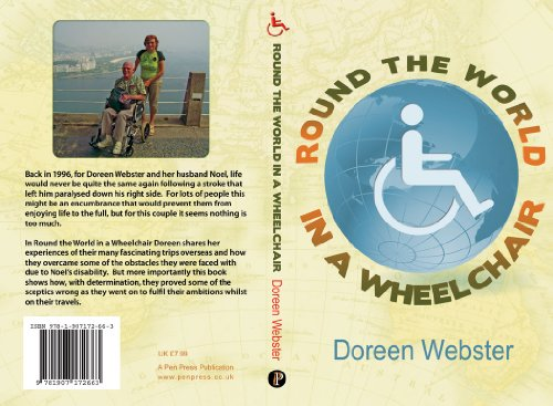 How Much Is A Wheelchair >> Amazon Com Round The World In A Wheelchair Ebook Doreen